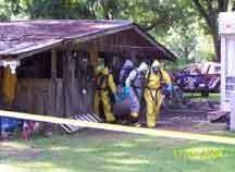 ADDU team leaving crime scene