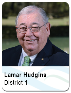 Lamar Hudgins, District 1