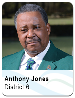 Anthony Jones, District 6