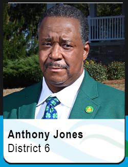Anthony Jones, District 6