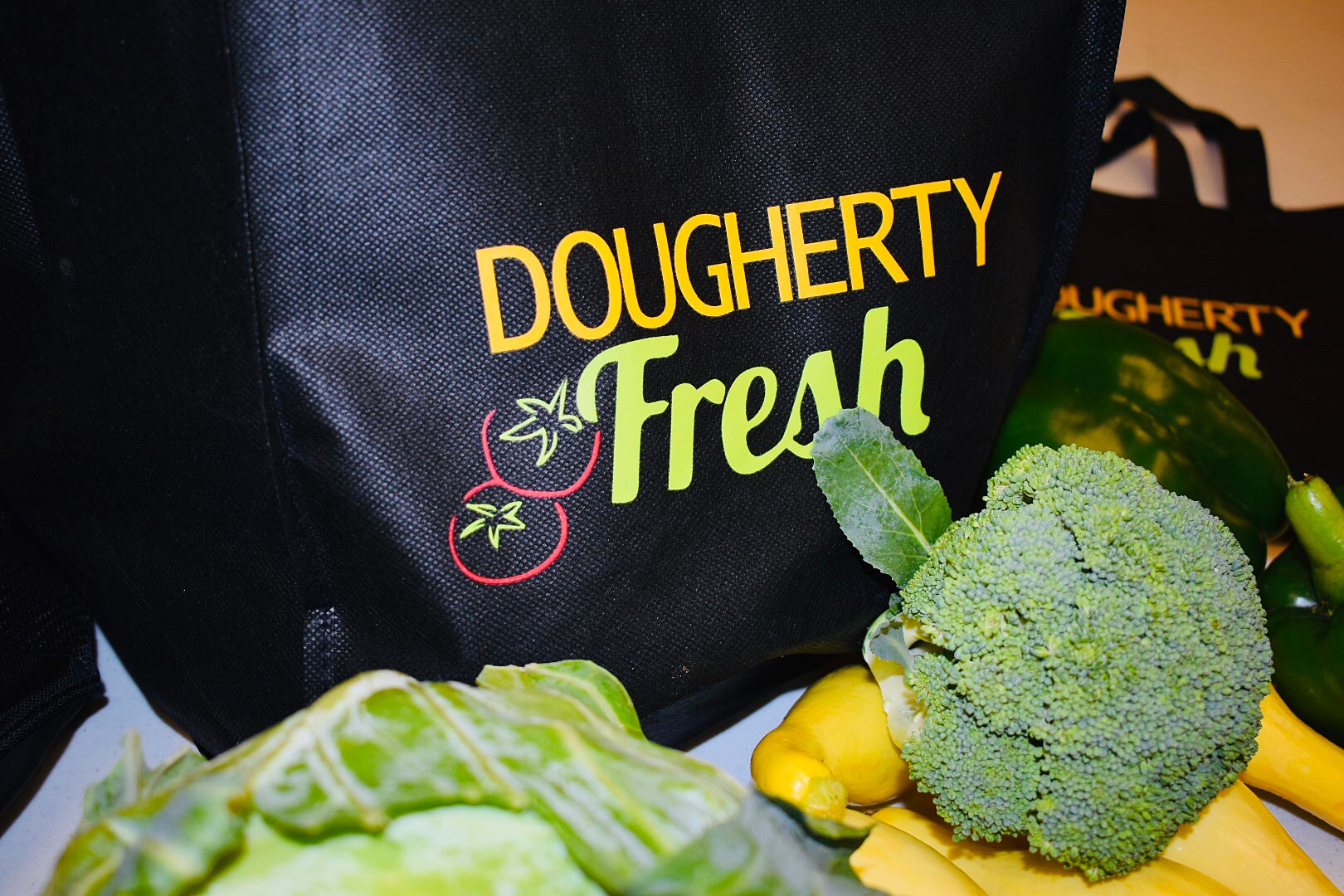 Dougherty Fresh Bag with select produce